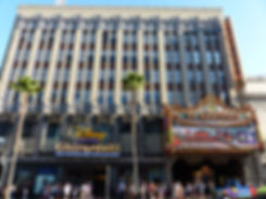 Hollywood Boulevard El Capitan Theater Ghirardelli