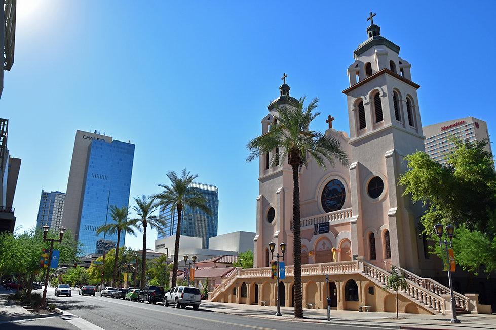 Arizona - Phoenix - St Mary's Basilica