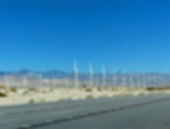palm springs éoliennes