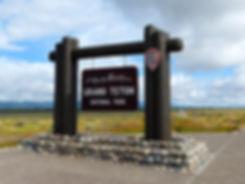 Grand Teton National Park panneau