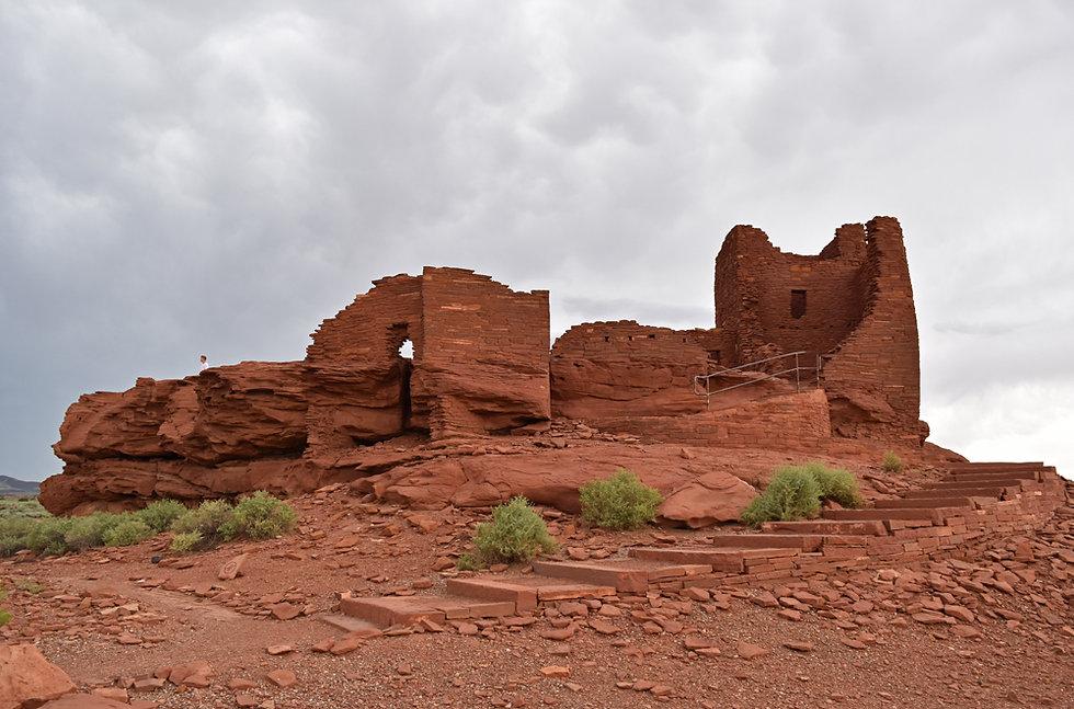 Arizona - Wupatki National Monument - Wukoki Pueblo