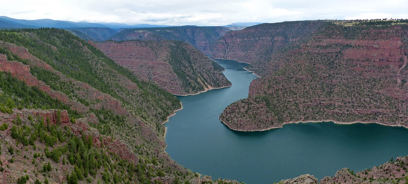 Flaming Gorge National Recreation Area red canyon