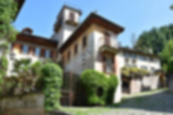 Italie Orta San Giulio maison typique