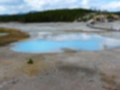 Yellowstone National Parc Norris Geyser Basin Scummy Pool