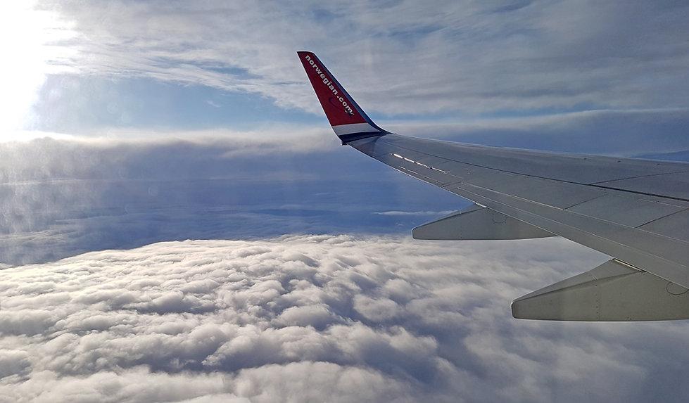 Vol Paris Tromso - Norwegian