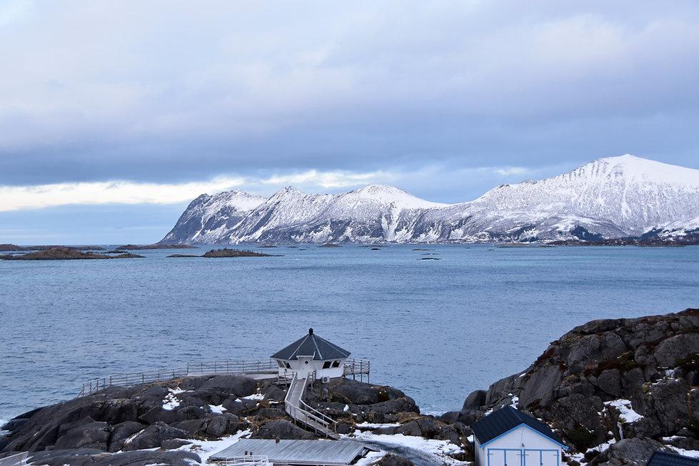 Norvège - Senja - Hamn