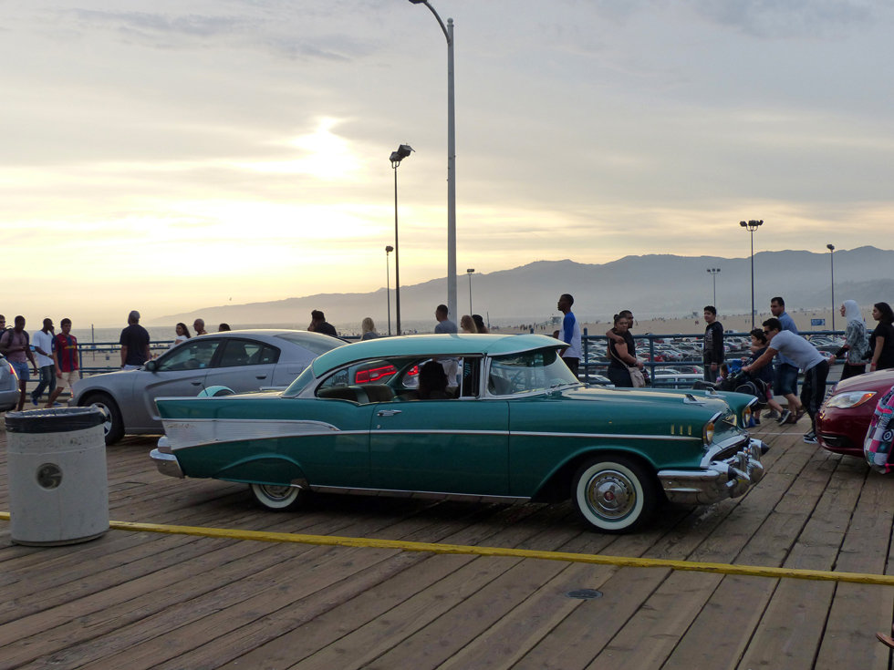 Los Angeles Santa Monica Pier Chevrolet