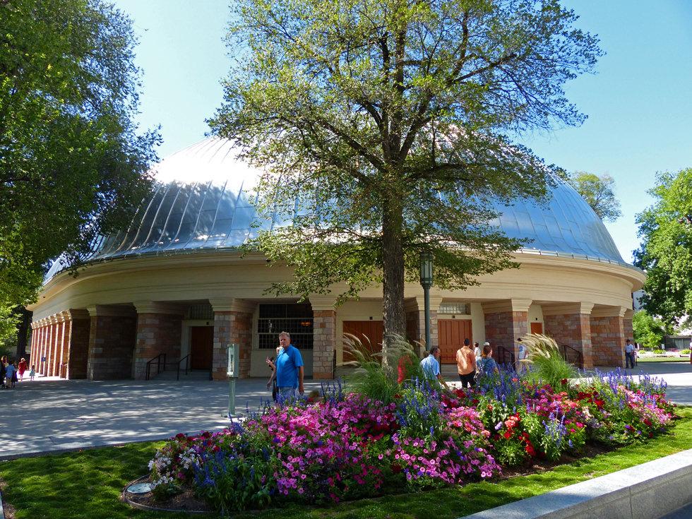 Salt Lake City Temple Square Tabernacle