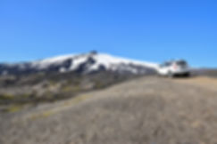Islande Snæfellsjökull volcan piste f570 duster