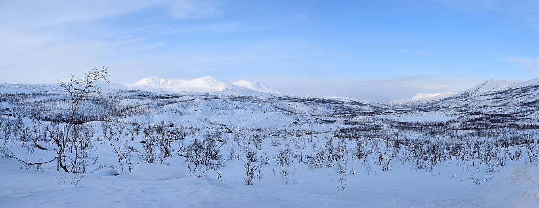 Norvège - paysage Laponie