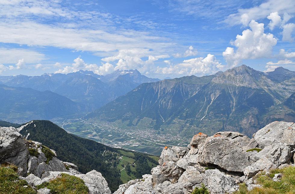 Randonnée Pierre Avoi - Suisse - Verbier - vallée du rhône
