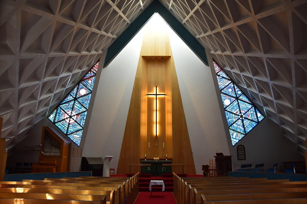 Islande Ólafsvík église intérieur