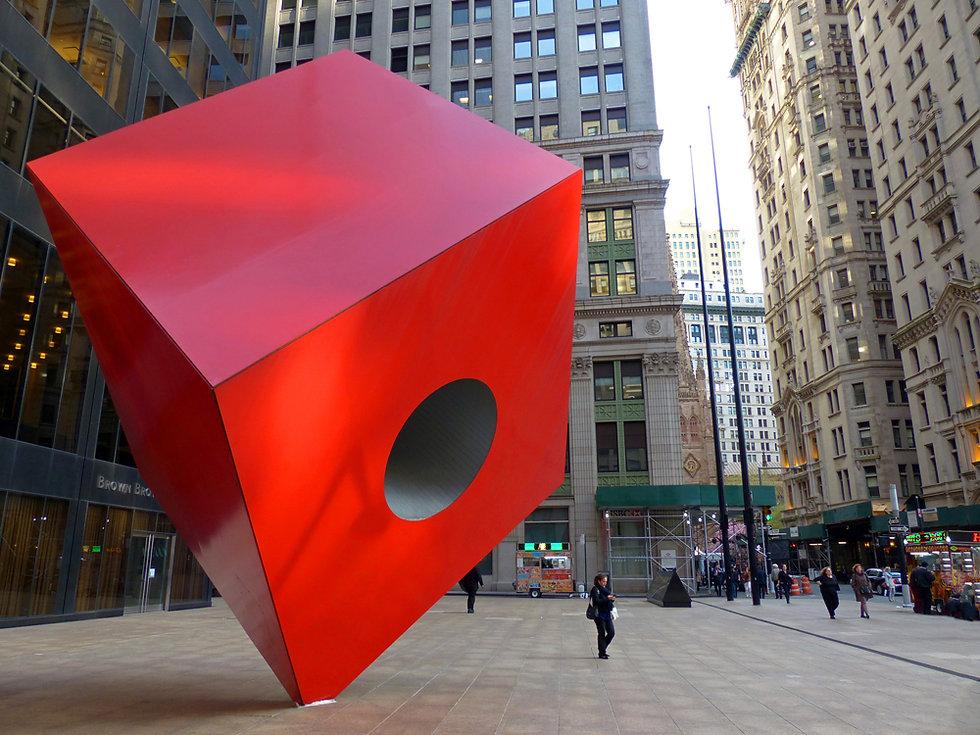 New-Yok - Financial Distrit - Sculpture