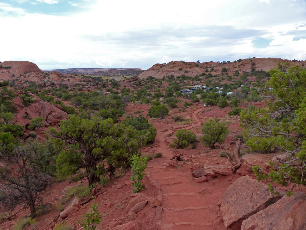 Canyonland National Park Upheaval Dome Trail