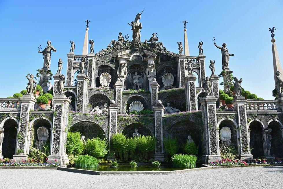 Italie Lac Majeur Isola Bella jardin grand théatre