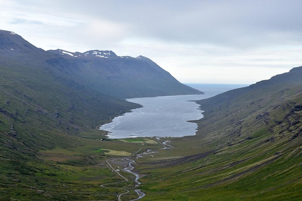 Mjóifjördur fjord est islande east iceland