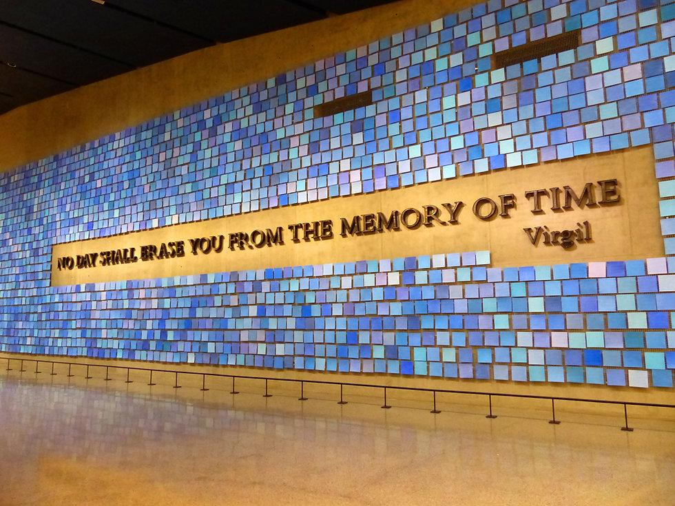 New-York - 11 septembre Memorial Museum