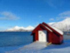 Norvège - Kvaløya - chapelle