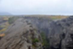 islande iceland myvatn Grjótagjá faille