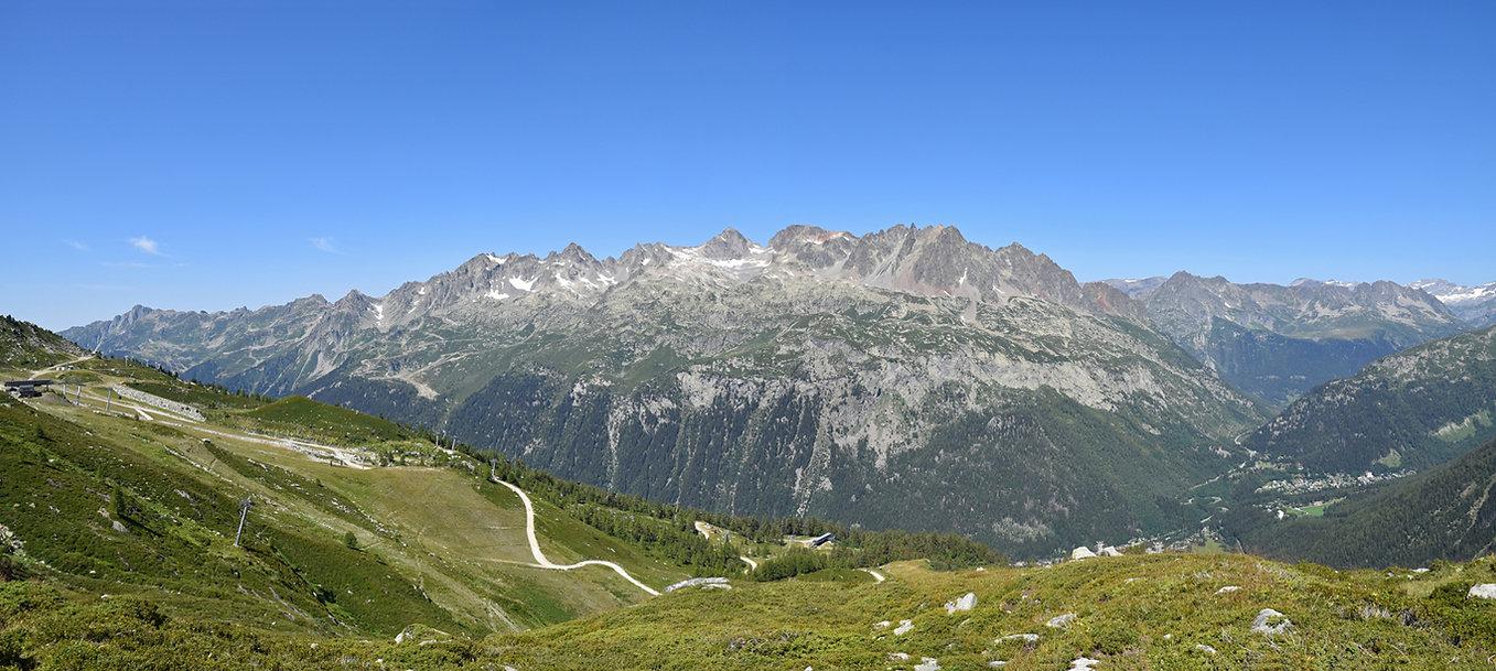 Chamonix - randonnée - glacier d'argentière - massif aiguilles rouges