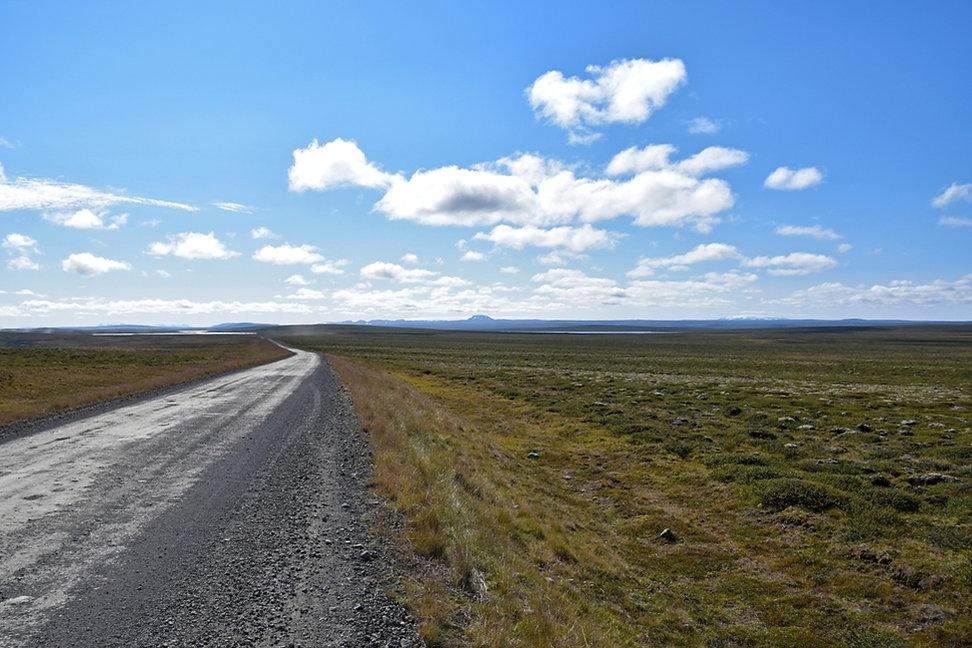 Islande piste F35 paysage