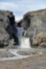 islande F335 rivière torrent cascade chute Nýifoss