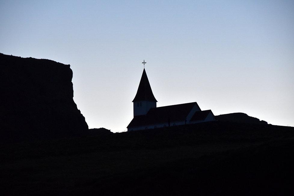 Vík í Mýrdal Vik églse church