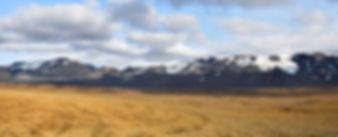 Islande piste F550 glacier Thórisjökull paysage