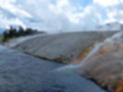 Yellowstone National Park Midway Geyser Basin Excelsior Geyser