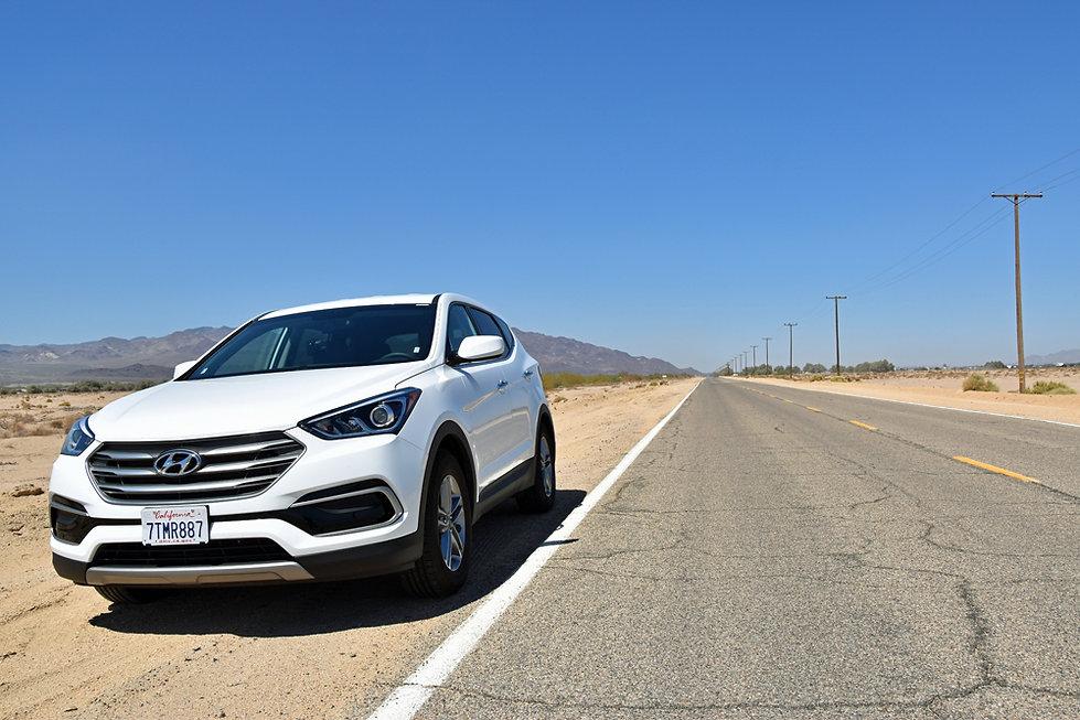 Ouest Américain - Californie - Route 66 - Hyundai Santa Fe