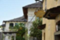 Italie Isola San Giulio maisons