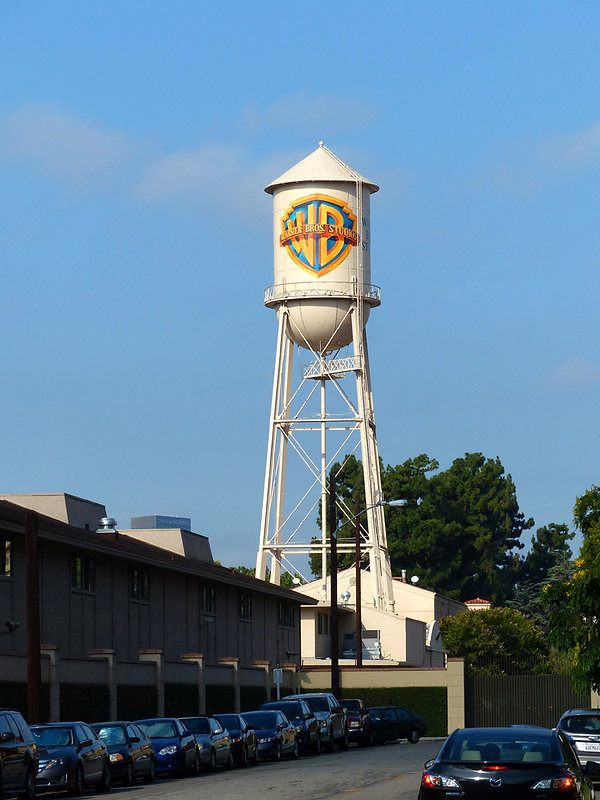 Los Angeles Burbank Warner Bros Studios chateau eau