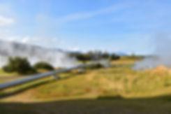 Islande Deildartunguhver canalisation geothermie chauffage