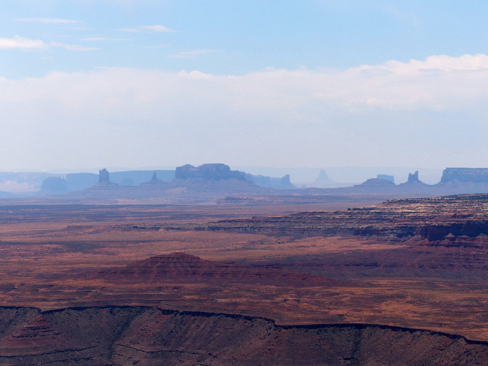 Muley point overlook monument valley