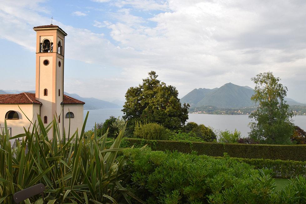 Italie Stresa Villa Rubino B&B terrasse lac majeur