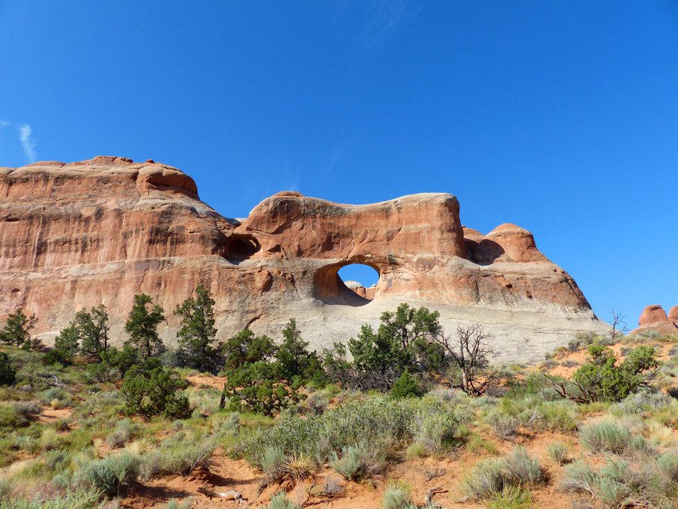 Arches National Park Devil's Garden Tunnel Arch