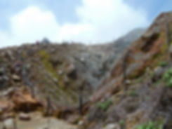 Guadeloupe - Soufrière - gouffre Tarissan