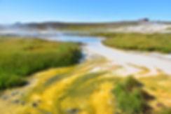 Islande zone géothermique Hveravellir source chaude colorée Raudihver