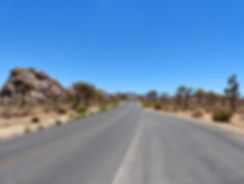 Joshua Tree National Park route