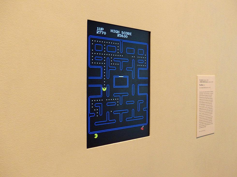 New-York - MOMA - Pacman