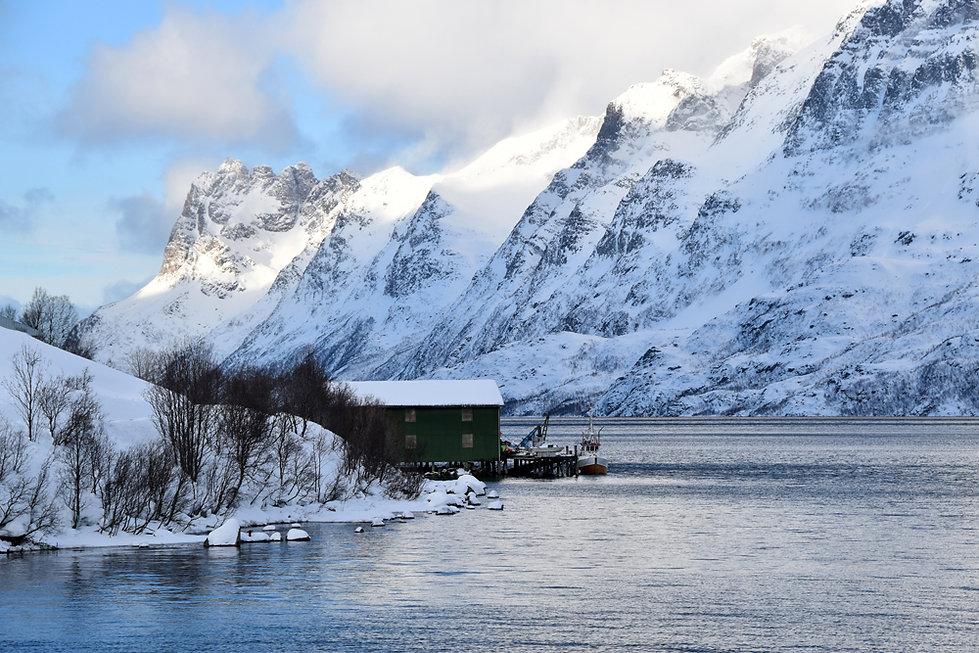 Norvège - Kvaløya - Ersfjorden
