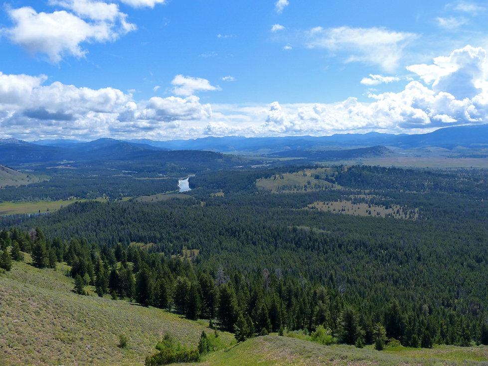 Grand Teton National Park signal moutain