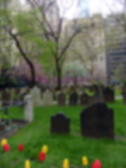 New-Yok - Trinity Church cimetière