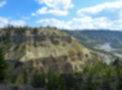Yellowstone National Parc Calcite Overlook