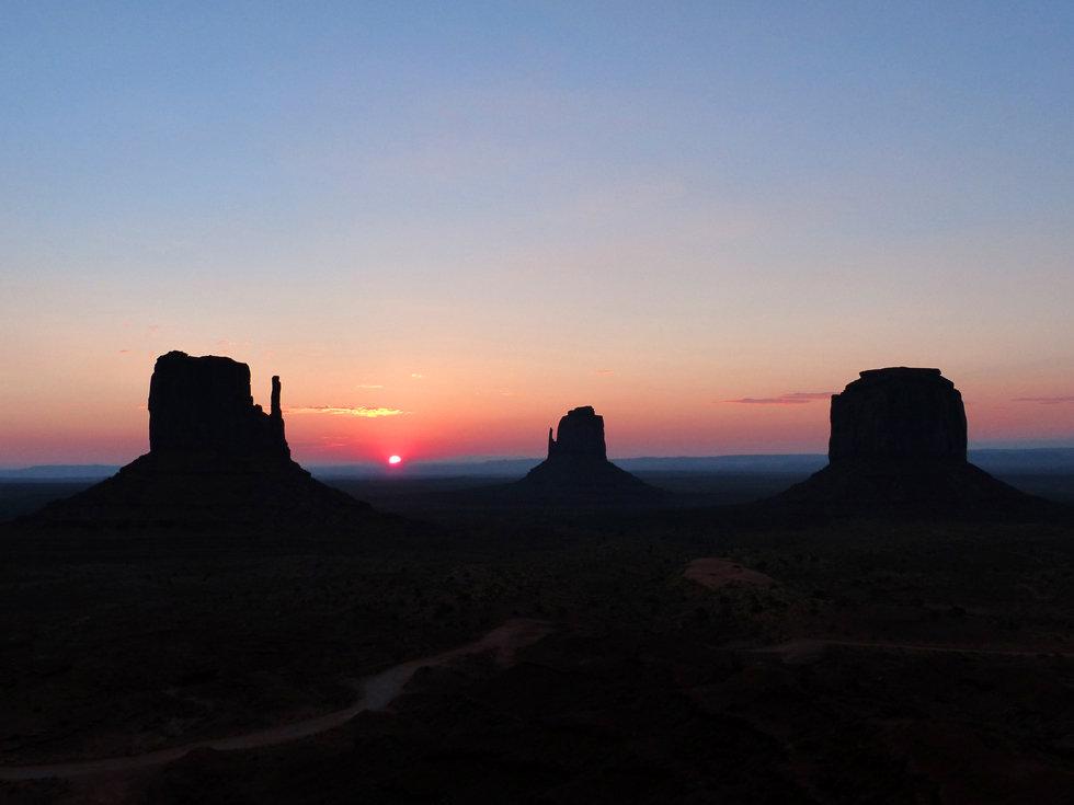 Monument Valley sunrise