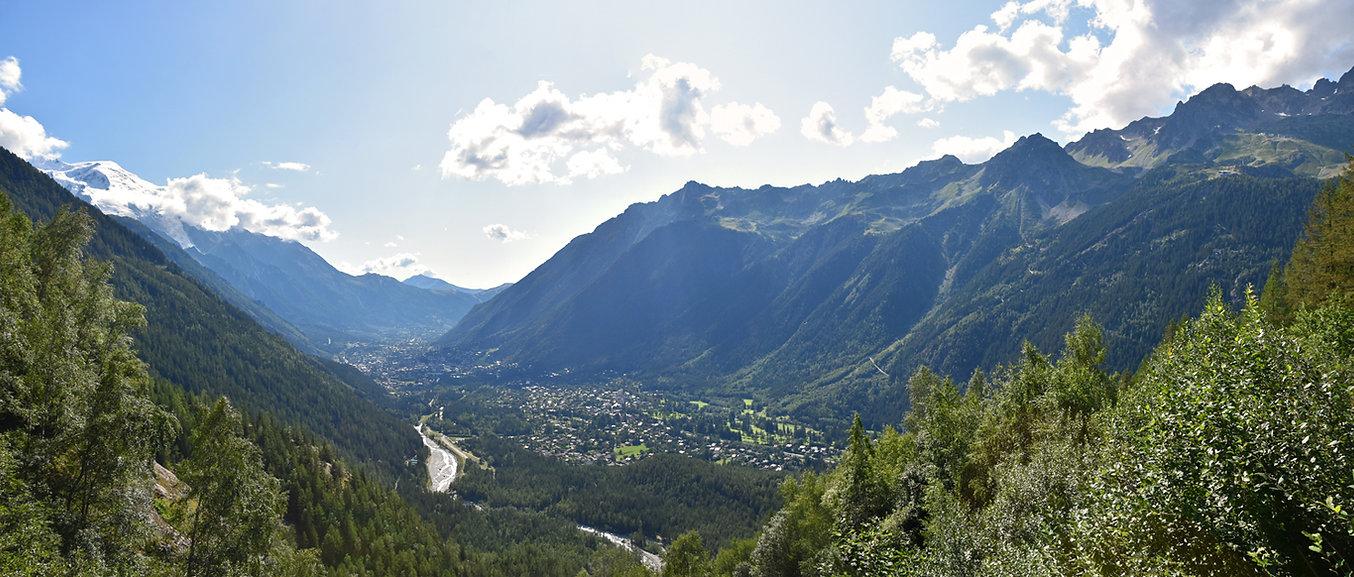 Vallée de Chamonix - Lavancher - le Chapeau -