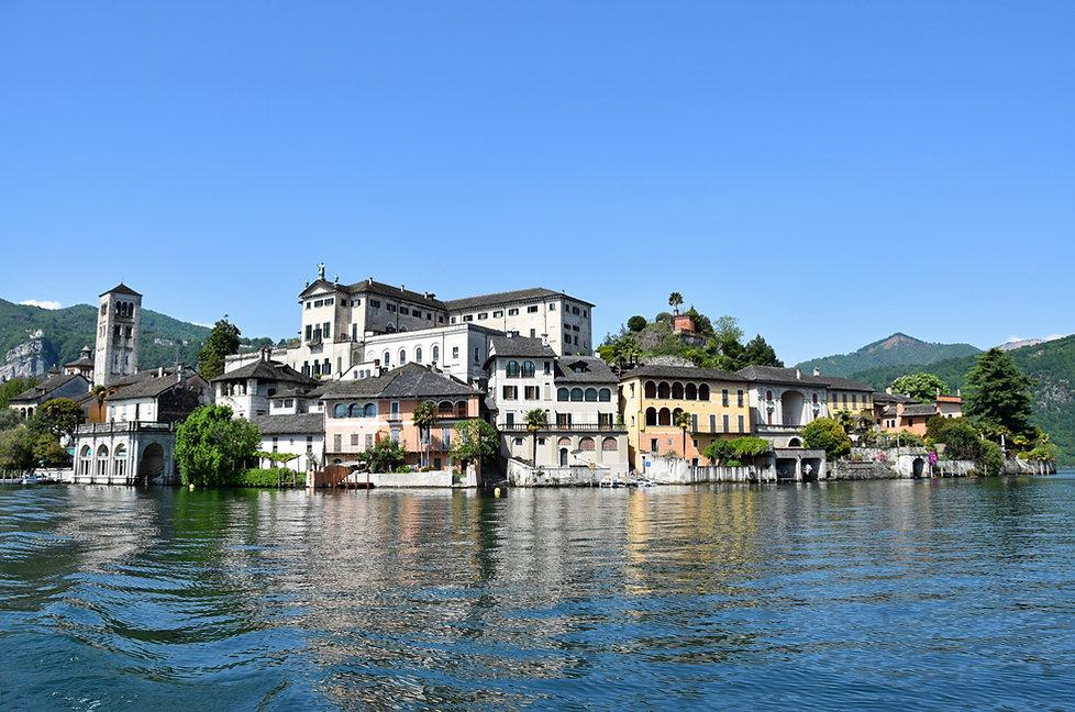Italie Lac Orta isola San Giulio