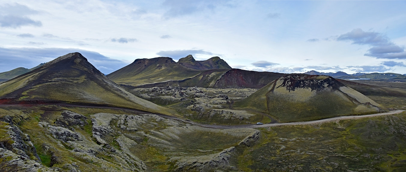 piste f208 islande iceland landmannalaugar stutur
