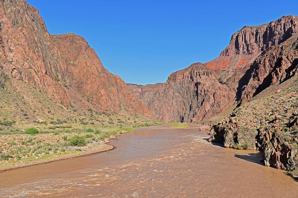 Arizona - Grand Canyon National Park - Bright Angel Trail - Colorado - Silver Bridge
