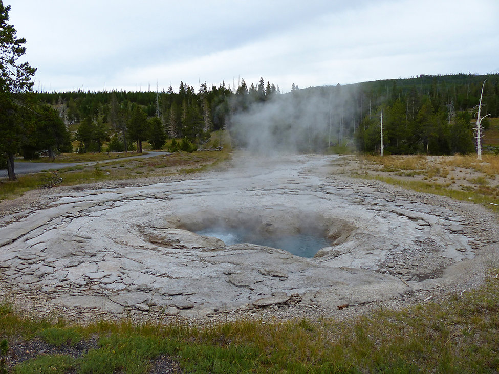 Yellowstone National Park Upper Geyser Basin Spa Geyser